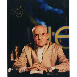 Richard Herd Star Trek V etc authentic genuine signed colour photo 2