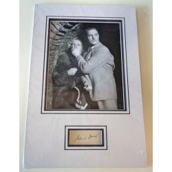 Robert Donat 39 Steps signed authentic genuine signature autograph