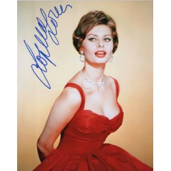 Sophia Loren genuine signed authentic autograph photo COA AFTAL