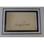 Stanley Baldwin PM genuine authentic signed autograph display