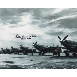 WW2 BOB Peter Ayerst spitfire genuine signed authentic autograph photo 2