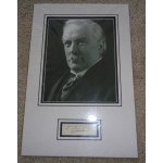 David Lloyd George PM signed genuine signature autograph display 2