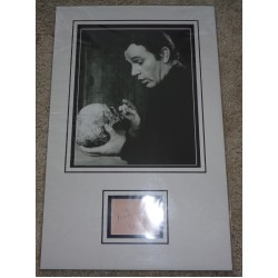 Richard Burton signed genuine signature autograph display AFTAL