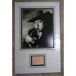 Orson Welles  authentic signed genuine autograph photo display