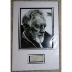 Alec Guinness Star Wars authentic signed genuine autograph photo display