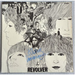 Klaus Voorman Beatles Revolver authentic signed genuine autograph vinyl album