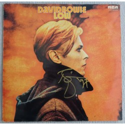 David Bowie Low authentic signed genuine autograph vinyl album