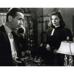 Lauren Bacall authentic signed genuine autograph signature photo