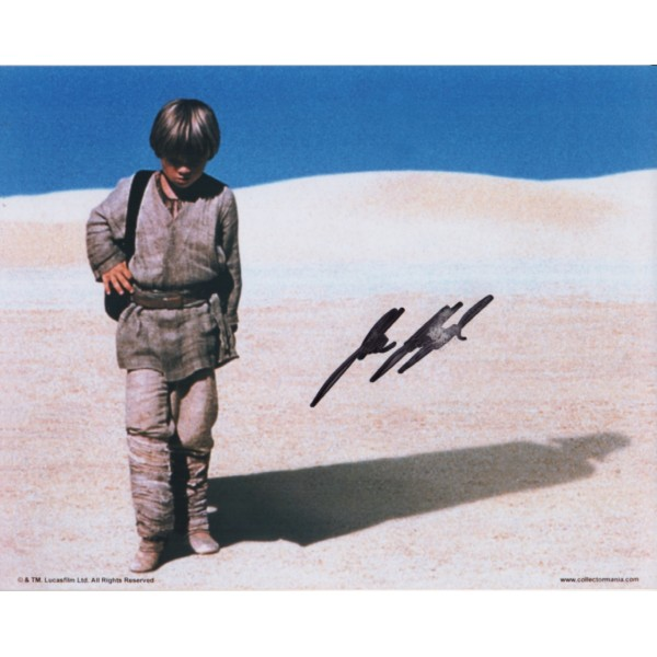 Star Wars Jake Lloyd genuine authentic signed autograph photo