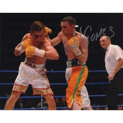 Michael Gomez boxing authentic autograph signed photo COA