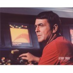 James Doohan Star Trek authentic genuine signature signed photo COA AFTAL