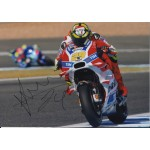Andrea Iannone Ducati Moto GP authentic genuine signed photo COA UACC AFTAL
