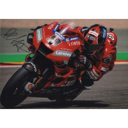 Danilo Petrucci Moto GP signed Ducati autograph authentic signature photo