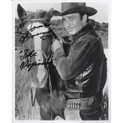 James Drury Virginian authentic signed autograph photo COA AFTAL