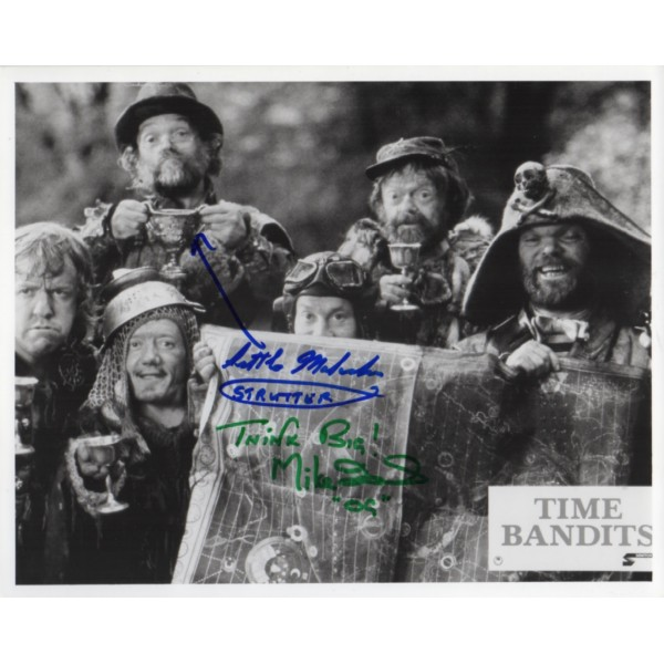 Malcolm Dixon Mike Edmonds authentic genuine signed autograph photo COA
