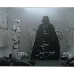 Dave Prowse Darth Vader Star Wars signed genuine signature photo 6