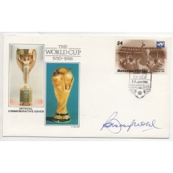 Bobby Moore WC 1966 authentic signed genuine autograph signature TUVALU DC
