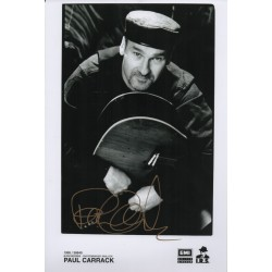Paul Carrack music genuine authentic original signed photo COA UACC AFTAL