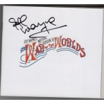 Jeff Wayne signed CD authentic genuine signed autograph COA UACC