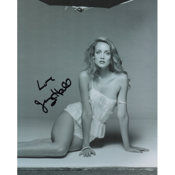 Jerry Hall authentic signed genuine autograph signature photo