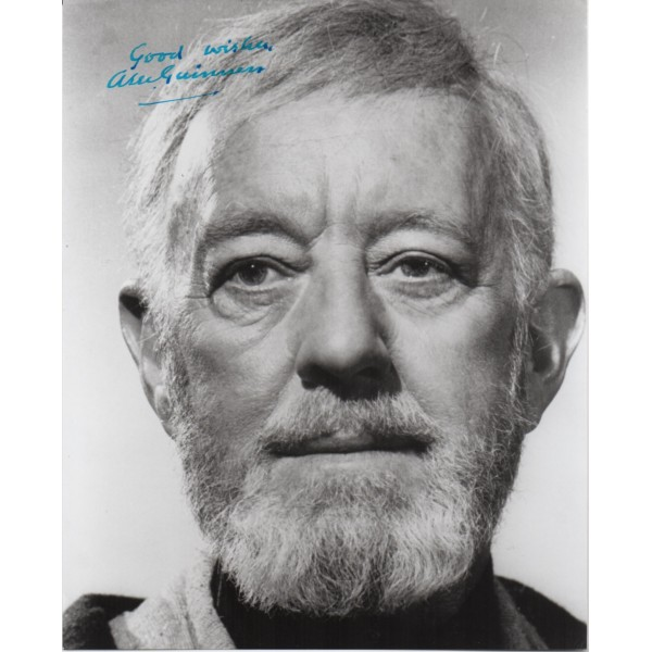 Alec Guinness Star Wars authentic signed genuine autograph signature photo