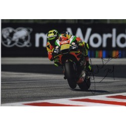 Andrea Iannone MotoGP Aprilia genuine authentic autograph signed photo