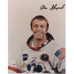 Apollo 14 Alan Shepard authentic signed genuine autograph signature photo