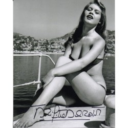 Brigitte Bardot genuine signed authentic signature photo