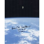 Bruce McCandless space walk genuine authentic autograph signed photo.