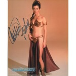 Carrie Fisher Star Wars authentic signed genuine autograph signature photo