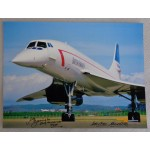 Concorde Mike Bannister Adrian Meredith genuine signed photo UACC AFTAL COA