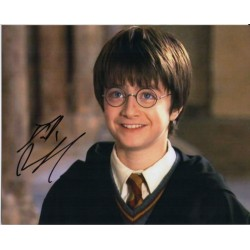 Daniel Radcliffe Harry Potter authentic signed genuine autograph photo