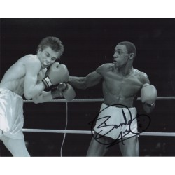Herol Bomber Graham boxing genuine signed authentic autograph photo COA UACC