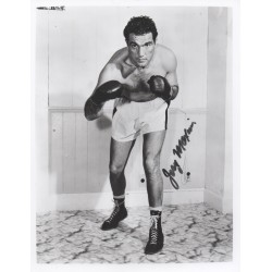 Joey Maxim Boxing Light Heavyweight genuine authentic signed autograph photo.