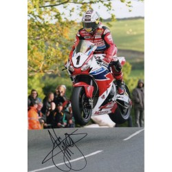 John McGuiness IOM TTgenuine authentic signed autograph photo 2