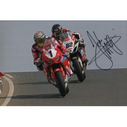 John McGuiness IOM TTgenuine authentic signed autograph photo 6