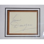 lonnie Donegan Skiffle King genuine signed autograph signature display.