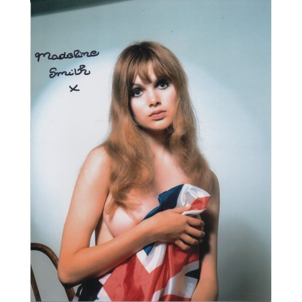 Madeline Smith sexy nude genuine signed autograph photo 3