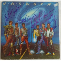 Michael Jackson 5 group authentic signed genuine autograph signature album COA