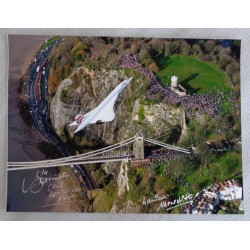 Mike Bannister Adrian Meredith Concorde authentic genuine signed autograph photo 9