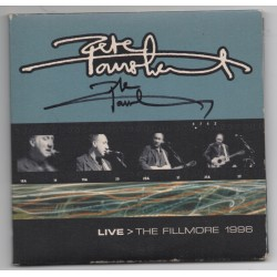 Pete Townsend The Who authentic genuine signed autograph Live Fillmore CD