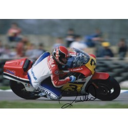 Randy Mamola MotoGP original authentic genuine autograph signed photo