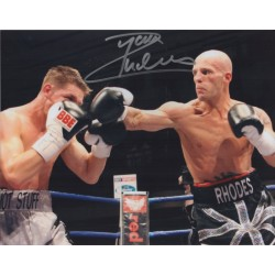 Ryan Rhodes boxing genuine signed authentic signature photo