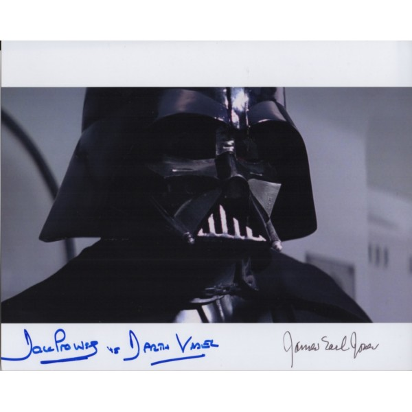 Star Wars Dave Prowse James Earl Jones signed genuine autograph photo 2