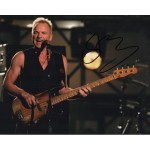 Sting The Police music authentic signed genuine autograph photo COA AFTAL