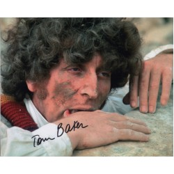 Tom Baker Doctor Who genuine signed authentic signature photo 6