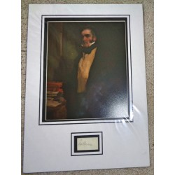 William Lamb Viscount Melbourne PM signed authentic genuine signature