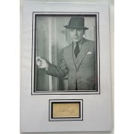 George Raft genuine authentic autograph signature and photo