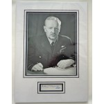 Arthur Bomber Harris WW2 genuine authentic signed autograph display