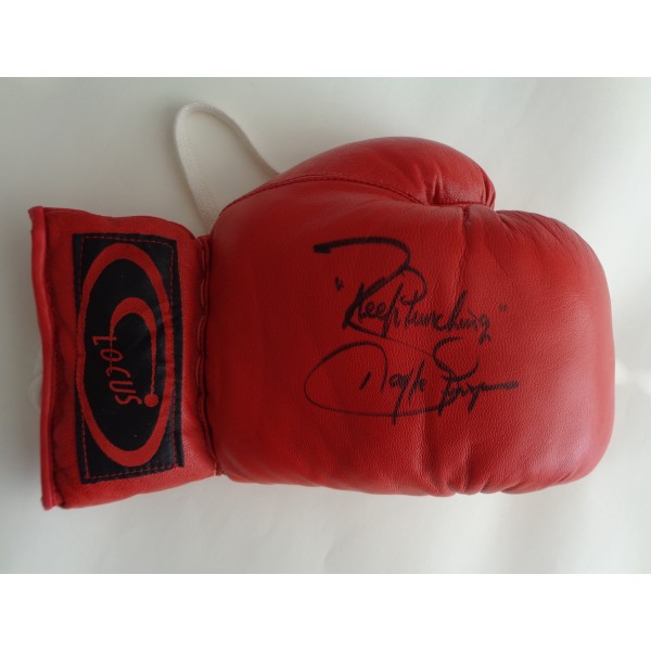 Barry McGuigan Boxing signed authentic signature autograph glove COA